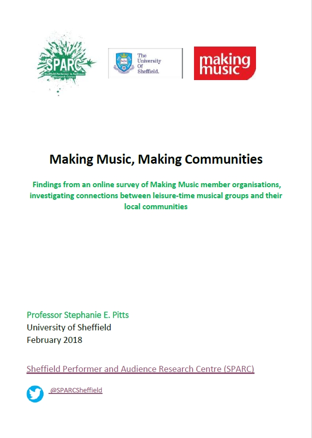 Making Music, Making Connections report