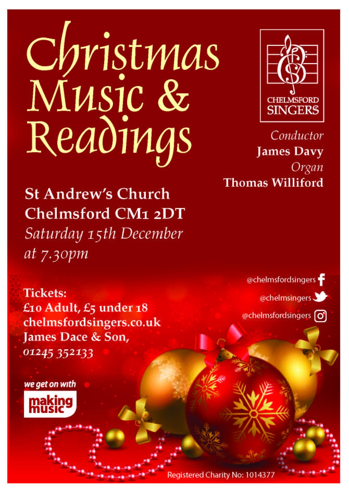 Christmas Readings.Christmas Music And Readings Making Music