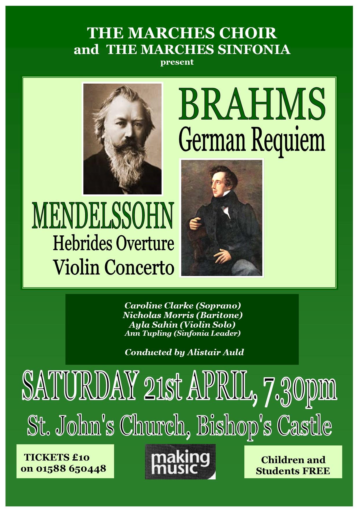 Brahm's German Requiem | Making Music