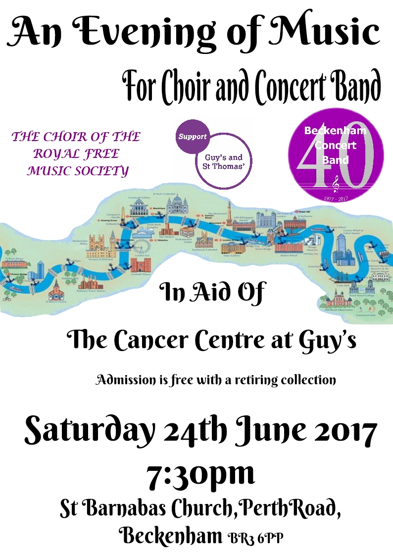 An Evening Of Music Beckenham Concert Band And The Royal