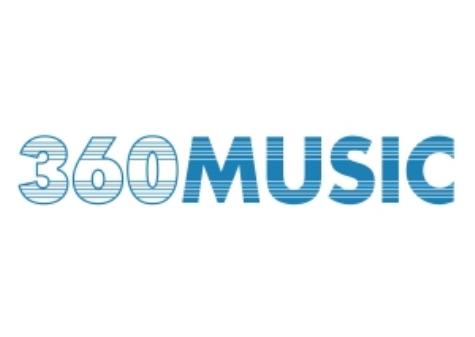 360 music logo