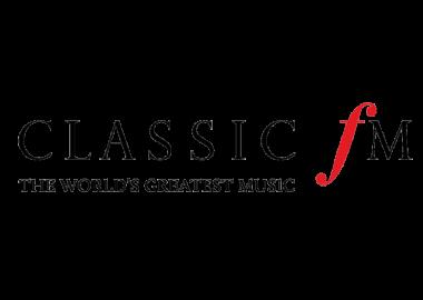 Classic FM logo on white background