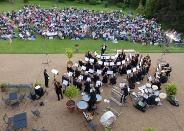 Bury St Edmunds Concert Band play Proms in the Park, Ickworth House