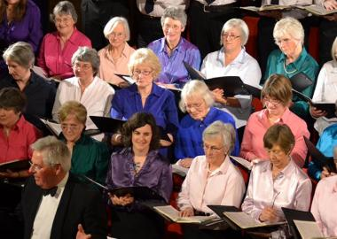 Crieff Choral Group members perform Handel's 'Messiah', Christmas 2015