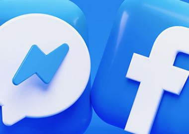 Facebook and Messenger logos