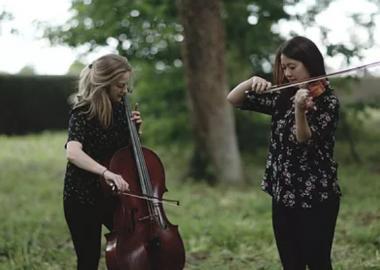 GAIA (Alice Allen, cello & Katrina Lee, violin)