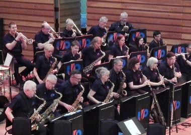 2020: Invicta Jazz Orchestra perform at Bands without Boundaries, Sevenoaks