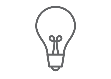 Opportunities light bulb icon